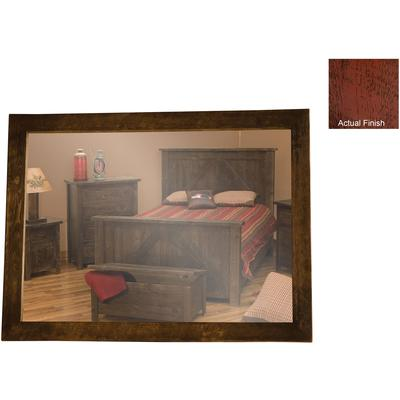"Frontier 48"" x 36"" Mirror - Red Canyon"