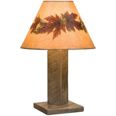 Frontier Table Lamp with Shade - Driftwood