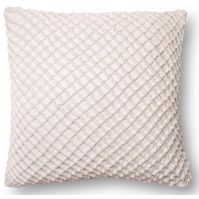 """22"""" x 22"""" White Pillow"""