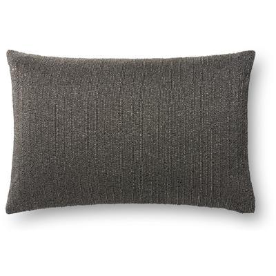 """13"""" x 21"""" Grey Pillow"""