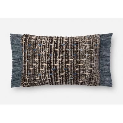 """16"""" x 26"""" Brown/Blue Pillow"""