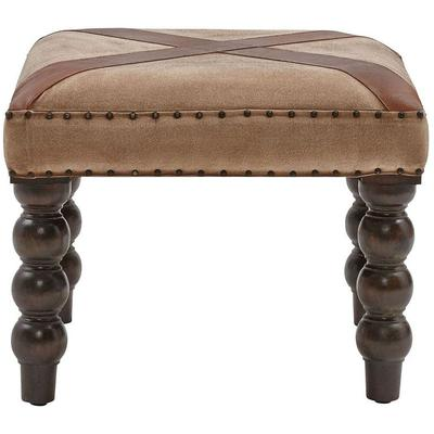 Tilson Bench - Tan/Brown