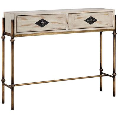 Telsa Two-Drawer Console Table