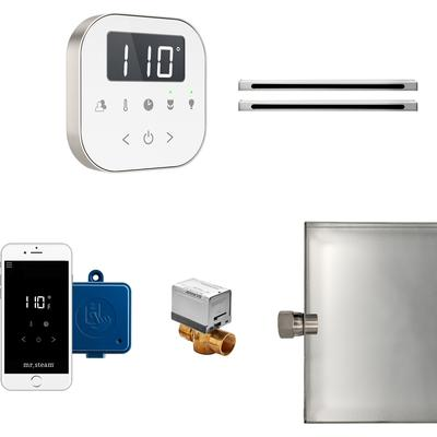 AirButler Max Linear Package with White Interface - Brushed Nickel