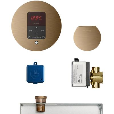 Butler Round Package - Brushed Bronze