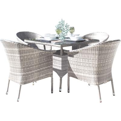 Santorini 5-Piece Armchair Dining Set