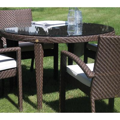 """Atlantis Round Dining Table 47"""" Kd with Hole"""