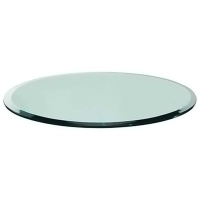 """48"""" Round Glass with Bevel"""