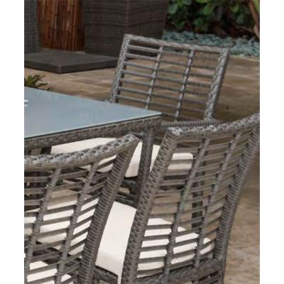 Panama Jack Graphite Stackable Arm Chair