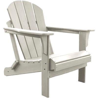 Panama Jack Polyresin Adirondack Chair - White