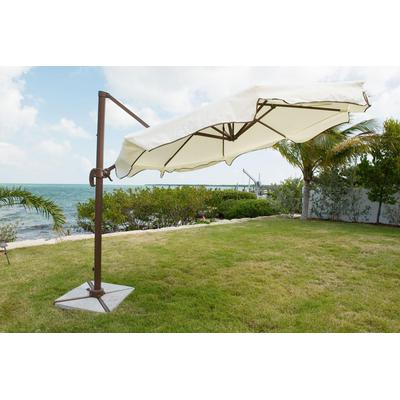 Panama Jack Island Breeze 10' Cantilever Umbrella with Granite Base