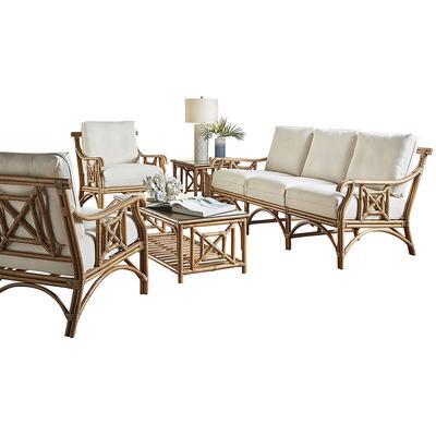 Panama Jack Plantation Bay 5-Piece Seating Set - Indoor Beige