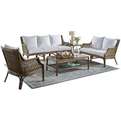 Panama Jack Old Havana 5-Piece Seating Set - Indoor Beige