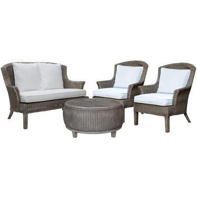 Panama Jack Playa Largo 4-Piece Seating Set - Indoor Beige