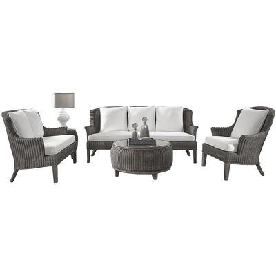 Panama Jack Playa Largo 5-Piece Seating Set - Indoor Beige