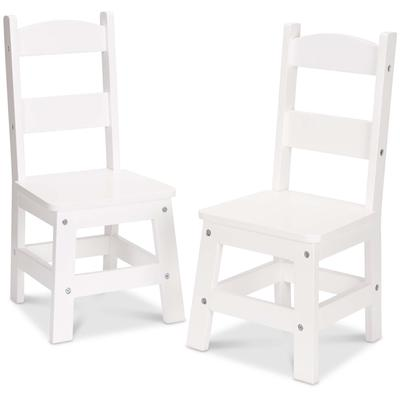 Two Chairs - White