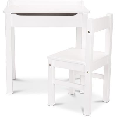 Lift-Top Desk - White