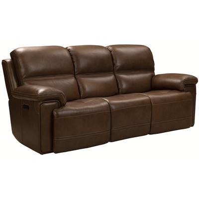 Sedrick Power Reclining Sofa - Spence Caramel