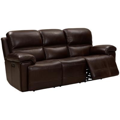 Sedrick Power Reclining Sofa - El Paso Walnut