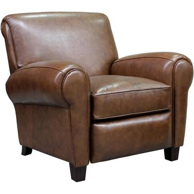 Edwin Recliner in Leather - Wenlock Double Chocolate
