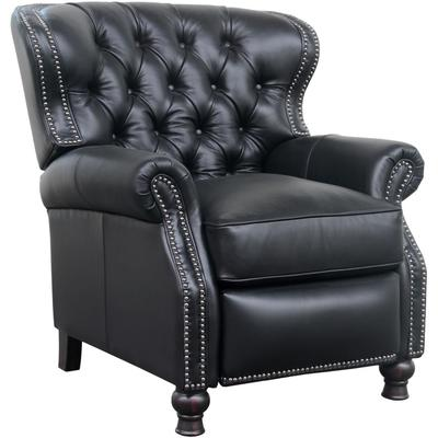 Presidential Recliner in Leather - Wenlock Onyx