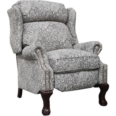 Danbury Recliner in Fabric - Rustic Cobblestone