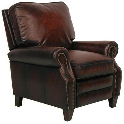 Briarwood Recliner in Leather - Stetson Coffee
