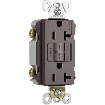Radiant Self-Test Tamper-Resistant Weather-Resistant GFCI Receptacle 20A 125VAC
