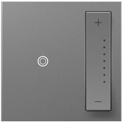 Adorne 700W sofTap Dimmer (Incandescent/Halogen/MLV/Fluorescent/ELV/CFL/LED) - Magnesium