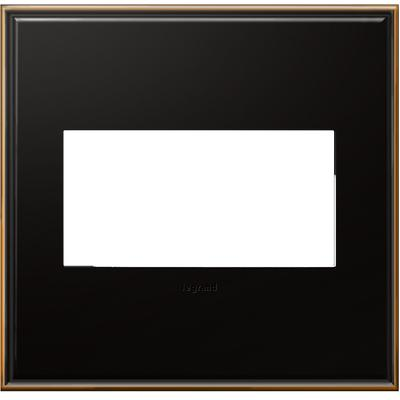 Adorne 2-Gang Wall Plate - Oil-Rubbed Bronze