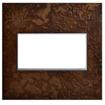 Adorne Hubbardton Forge 2-Gang Wall Plate - Bronze