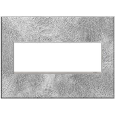 Adorne 3-Gang Wall Plate - Spiraled Stainless