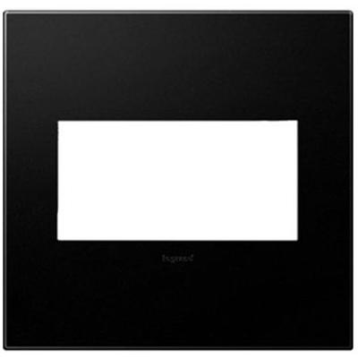Adorne 2-Gang Wall Plate - Graphite