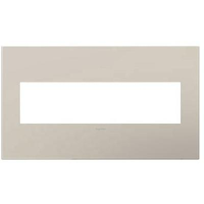 Adorne 4-Gang Wall Plate - Greige