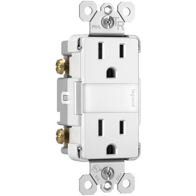 Radiant Nightlight+2 15A TR Outlets and Louver