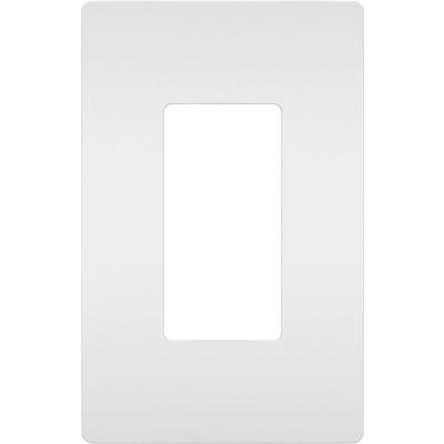 Radiant 1-Gang Screwless Wall Plate, Plastic