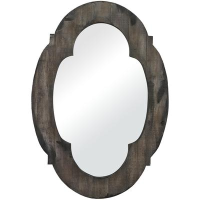 Berkely Hill Wood Framed Mirror