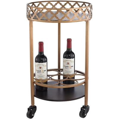 Quarterfoil Bar Cart