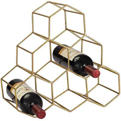 Hexagonal Wine Rack