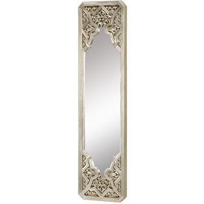 Gothic Mirror in Antique Silver Leaf