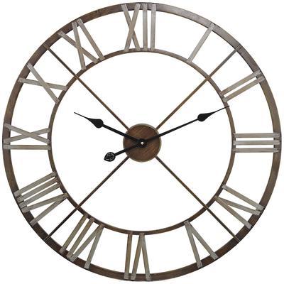 Open Centre Iron Wall Clock