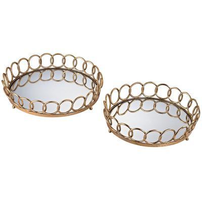 Loop Mirrored Trays