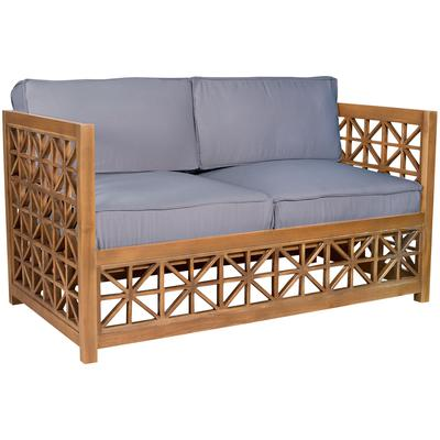 Vincent Lattice Love Seat