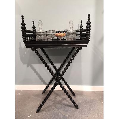 Portuguese Bar Cart - Black