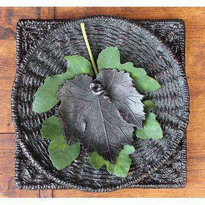 Aluminum Grape Leaf - Bronze