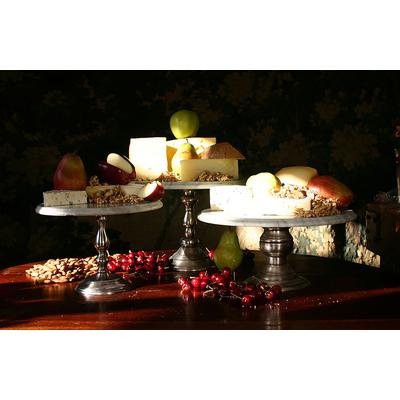 Marble Large Catering Stand - Pewter
