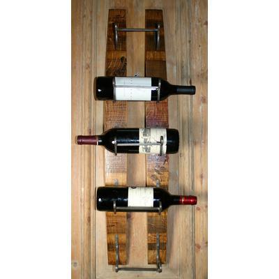 WB Wine Stave Wine Rack