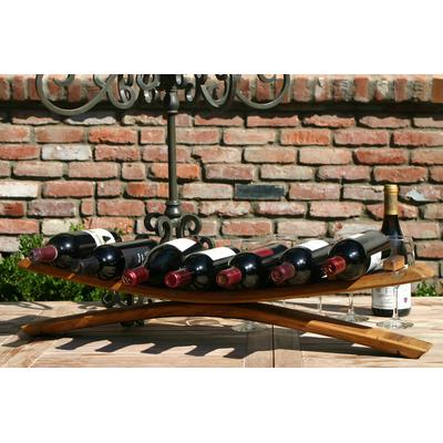 WB Wine Stave Table Top Wine Rack