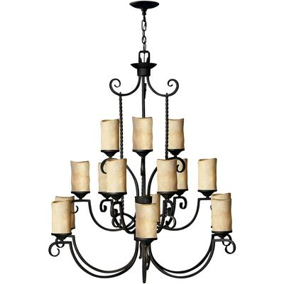 Casa Three Tier Chandelier
