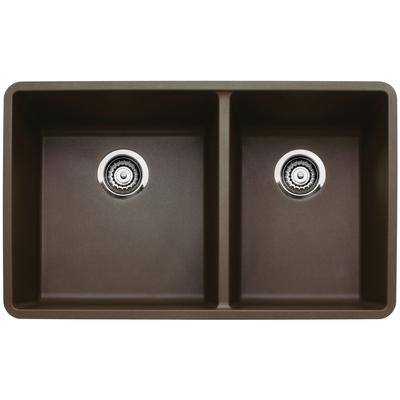 Precis Silgranit 1-3/4 Bowl Kitchen Sink in Anthracite
